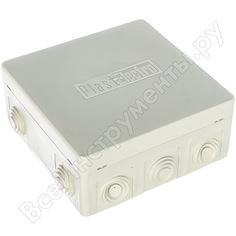 Коробка распаячная 125х125х50мм светозар sv-54959