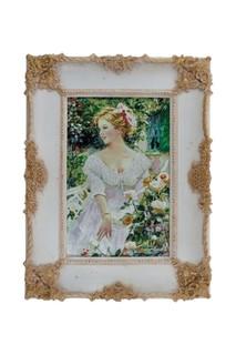 "Картина ""Девушка с розами"" ГЛАСАР"