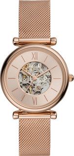 Женские часы в коллекции Carlie Automatic Женские часы Fossil ME3175