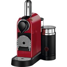 Кофеварка Nespresso CitizMilk C123 Cherry Red