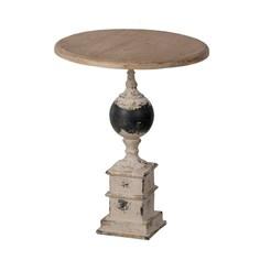 Столик кофейный в винтажном стиле Glasar 47x47x59 см ГЛАСАР