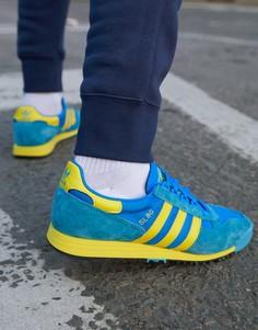 Синие кроссовки adidas Originals SL 80-Синий