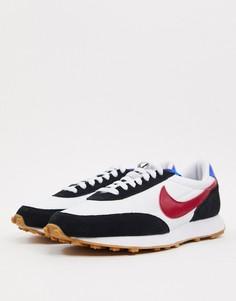 Черно-бордовые кроссовки с резиновой подошвой Nike Daybreak-Черный