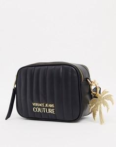 Сумка через плечо Versace Jeans Couture-Черный