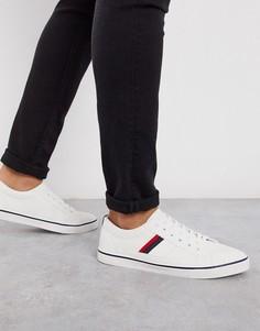Белые кроссовки с полосками Loyalty & Faith-Белый