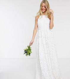 Белое кружевное свадебное платье Y.A.S-Белый