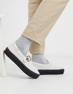 Белые/черные кроссовки Vans Style 47 Creeper-Белый