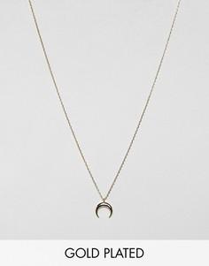 Позолоченное ожерелье Estella Bartlett-Золотой