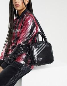 Черная сумка через плечо с пайетками adidas Originals x Anna Isoniemi-Черный