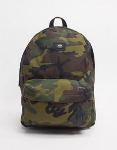 Камуфляжный рюкзак Vans Old Skool III-Зеленый