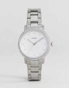 Наручные часы серебристого цвета Fossil ES4287-Серебряный