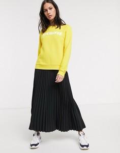 Черная плиссированная юбка миди Selected Femme-Черный