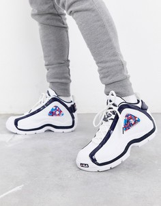 Белые кроссовки Fila Retro Grant Hill 2-Белый