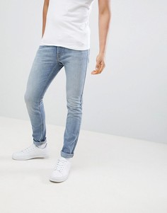 Синие джинсы скинни Lee Jeans Luke-Синий