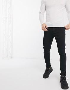 Черные джинсы скинни LDN DNM-Черный