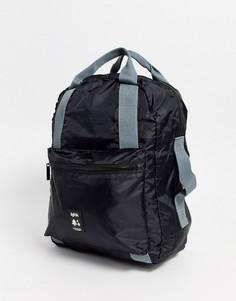 Черный рюкзак из переработанных материалов Lefrik