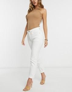 Белые укороченные джинсы Levis 501-Белый