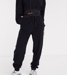 Черные флисовые джоггеры COLLUSION-Черный