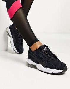 Золотисто-черные кроссовки Puma Cell Stellar-Черный