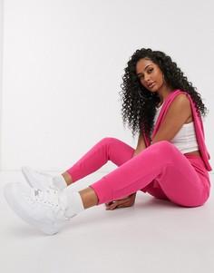 Узкие розовые джоггеры Nike Essentials-Розовый