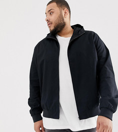 Куртка Харрингтон с капюшоном French Connection PLUS-Темно-синий