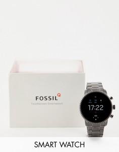 Смарт-часы Fossil FTW4012 Gen 4 Q Explorist, 45 мм-Серый