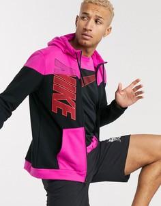 Худи розового цвета Nike Training-Розовый