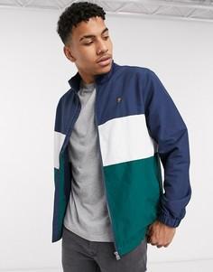 Сине-зеленая куртка Farah-Темно-синий