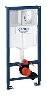 Система инсталляции для унитаза GROHE Rapid SL с панелью смыва Skate Air (3 режима), комплект 3-в-1 (1,13 м) (38721001)