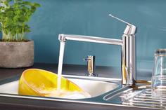 Дозатор жидкого мыла GROHE Cosmopolitan встраиваемый в столешницу, хром (40535000)