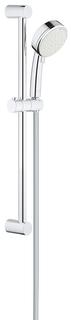Душевой гарнитур GROHE New Tempesta Cosmopolitan 100 II, душевая штанга 600 мм, 5,7 л/мин, хром (2757820E)