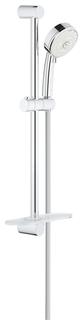 Душевой гарнитур GROHE New Tempesta Cosmopolitan 100 с полочкой, 600 мм, 9,5 л/мин, хром (27577002)