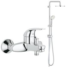 Душевая система для ванны GROHE New Tempesta 200 со смесителем (NB0046)