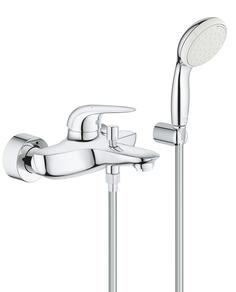 Смеситель для ванны GROHE Eurostyle New Solid с душевым набором, хром (2372930A)