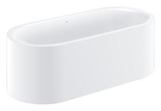 Ванна отдельностоящая GROHE Essence c отверстием перелива с противоскользящим покрытием 180х80х57.5см (39728000)