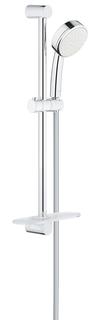 Душевой гарнитур GROHE New Tempesta Cosmopolitan 100 I с полочкой, душевая штанга 600 мм, хром (26083002)