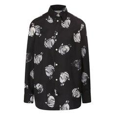 Блузы Lanvin Шелковая рубашка Lanvin