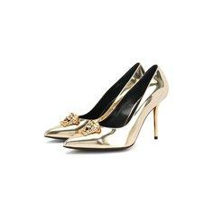 Туфли Versace Кожаные туфли Palazzo Versace