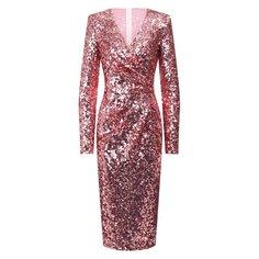 Платья Dolce & Gabbana Платье с пайетками Dolce & Gabbana