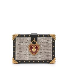 Сумка My Heart из кожи змеи Dolce & Gabbana