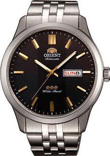 Японские наручные мужские часы Orient AB0B009B. Коллекция Three Star