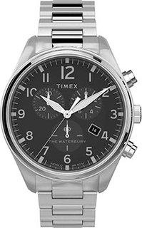 мужские часы Timex TW2T70300VN. Коллекция The Waterbury Classic Chronograph