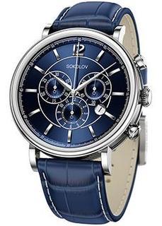 fashion наручные мужские часы Sokolov 125.30.00.000.05.03.3. Коллекция Motion