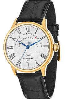 мужские часы Earnshaw ES-8077-03. Коллекция Cornwall Retrograde