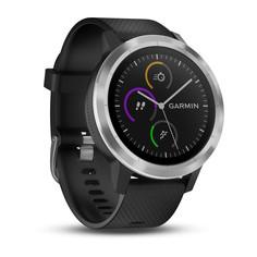 Спортивные часы Garmin Vivoactive 3 (черный, серебряный)
