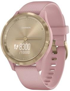Умные часы Garmin vivomove 3S S/E EU Light Gold Dust Rose Silicone (010-02238-21)