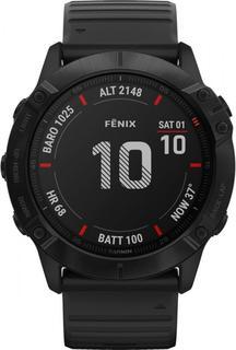Спортивные часы Garmin fenix 6XProBlack w/Black BandGPS WatchEMEA (010-02157-01)