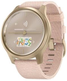 Умные часы Garmin vivomove Style S/E EU Light Gold Blush Pink Nylon (010-02240-22)