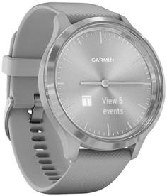 Умные часы Garmin vivomove 3 S/E EU Silver Powder Gray Silicone (010-02239-20)