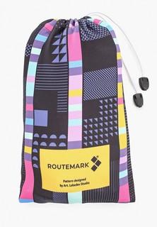 """Чехол для чемодана Routemark """"Стробоскоп"""" с паттерном Студии Артемия Лебедева SP310 L/XL"""